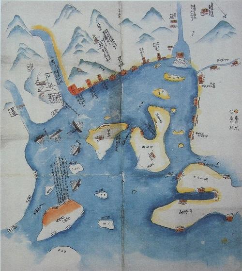 長州征討の図。
