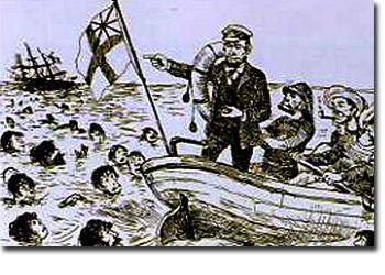 ジョルジュ・ビゴーの風刺画