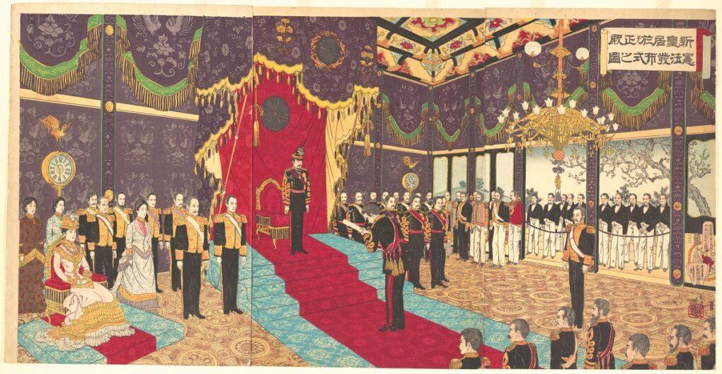 大日本帝国憲法とは?条文の内容や特徴と日本国憲法との違いについても解説