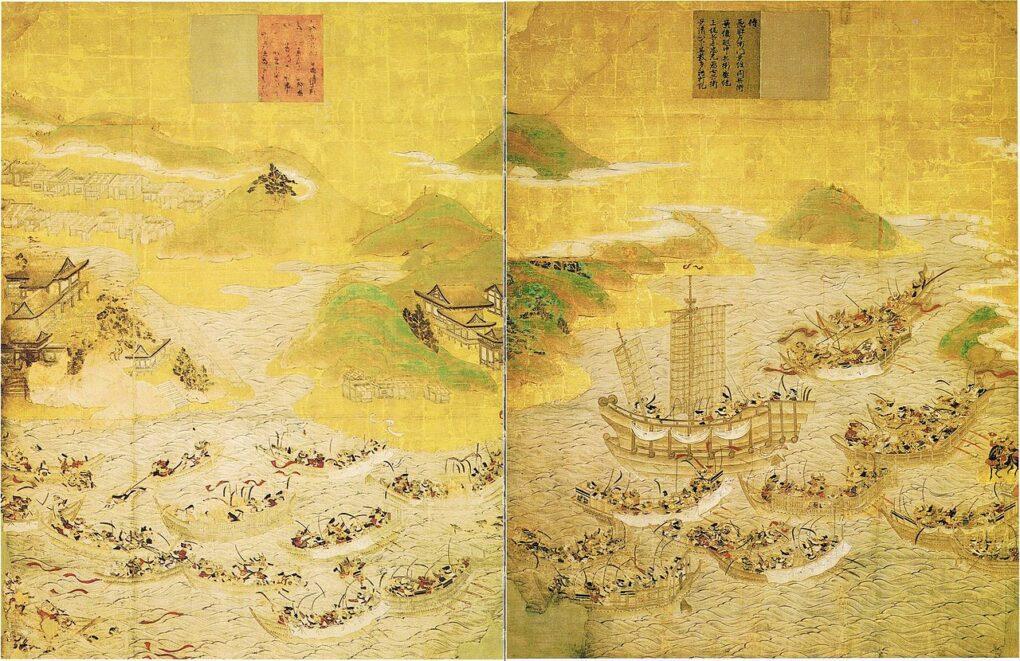 壇ノ浦の戦いをわかりやすく解説!義経の活躍と三種の神器についても!