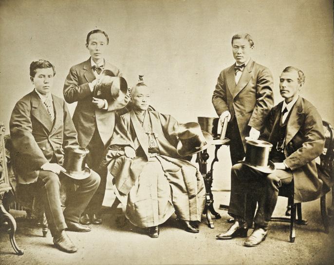 岩倉使節団のメンバーと目的について!ビスマルクの影響や津田梅子についても